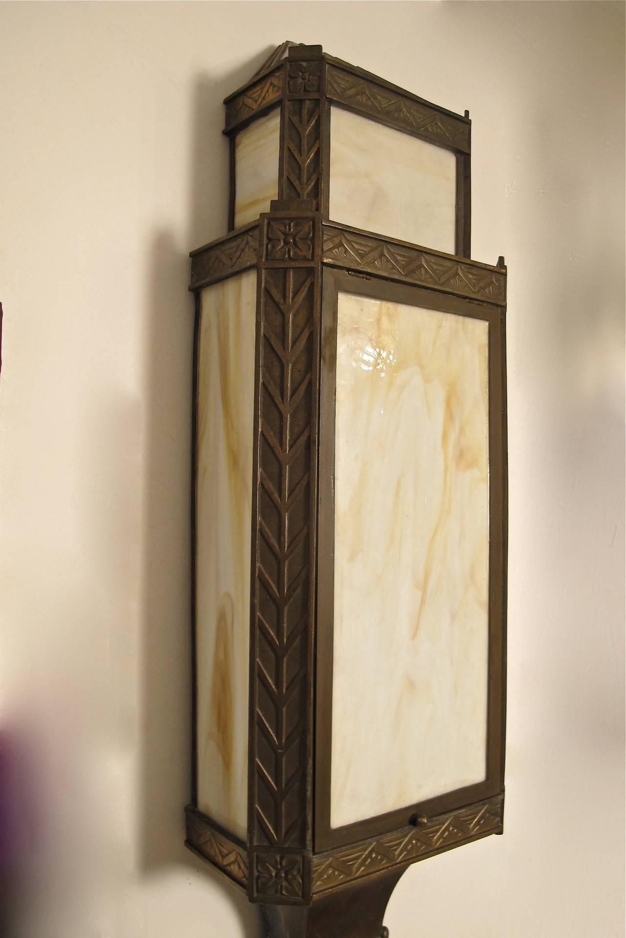 Best ideas about Art Deco Wall Art . Save or Pin Bronze Art Deco Wall Sconces at 1stdibs Now.