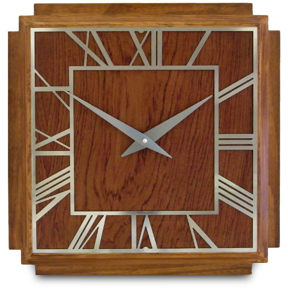 Best ideas about Art Deco Wall Art . Save or Pin 1930 s Art Deco Wall Clock 36cm Now.