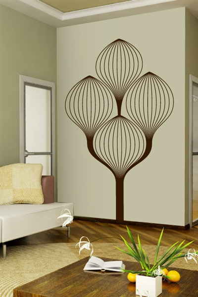 Best ideas about Art Deco Wall Art . Save or Pin Art Deco Tree Wall Decals Now.