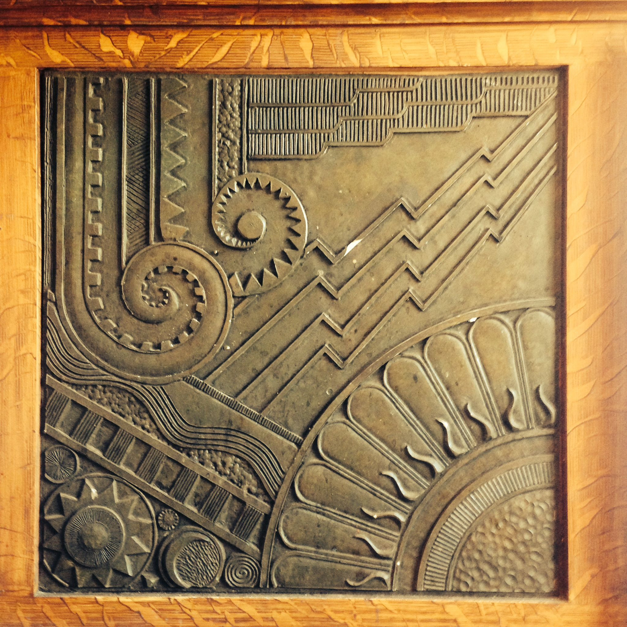 Best ideas about Art Deco Wall Art . Save or Pin Art Deco Wall panel at Cafe Bambino Now.