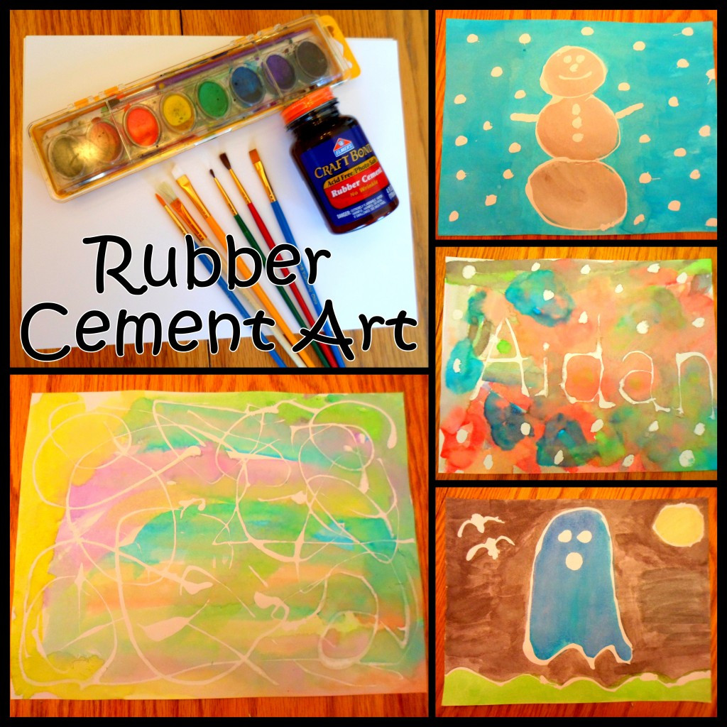 Best ideas about Art Ideas For Kids . Save or Pin Rubber Cement Art Ideas for Kids Now.