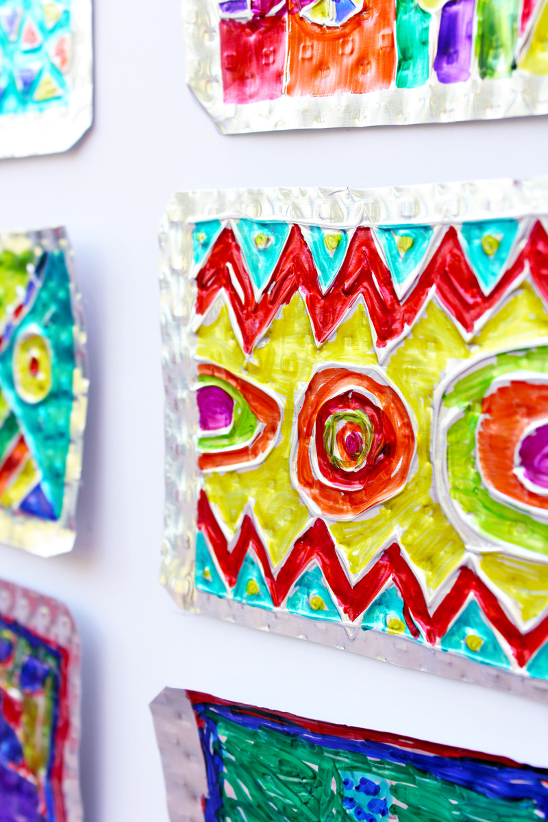 Best ideas about Art Ideas For Kids . Save or Pin Folk Art Project for Kids Hojalata Tin Art Babble Now.