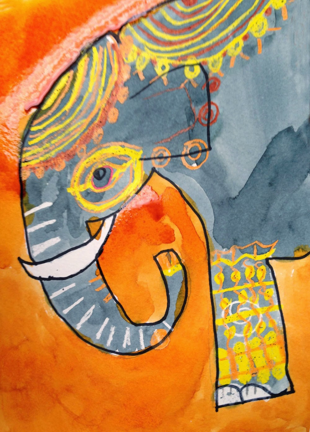 Best ideas about Art Projects For Kids . Save or Pin Lily's Elephant Now.