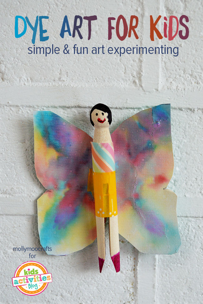 Best ideas about Art Projects For Little Kids . Save or Pin Dye Art Projects For Kids Without The Mess Now.