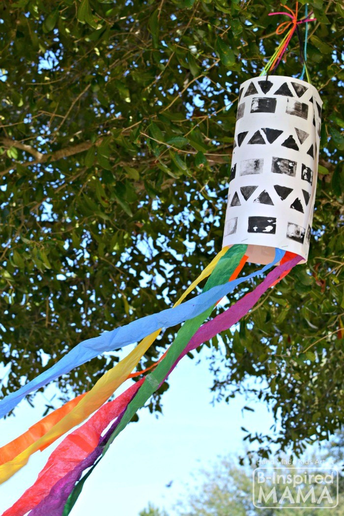 Best ideas about Art Projects For Little Kids . Save or Pin A STEAM Filled Windsock Art Project for Kids Now.