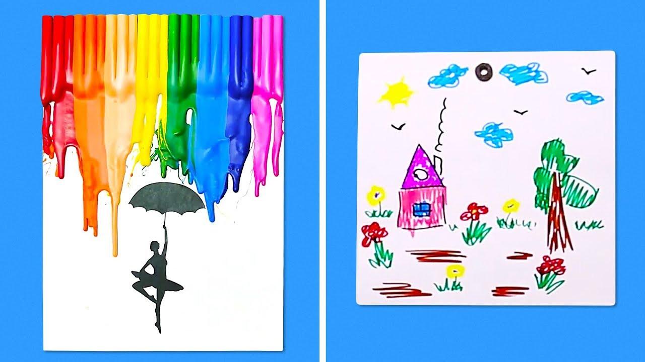 Best ideas about Art Projects For Little Kids . Save or Pin 11 UNIQUE IDEAS FOR KIDS ART PROJECTS Now.