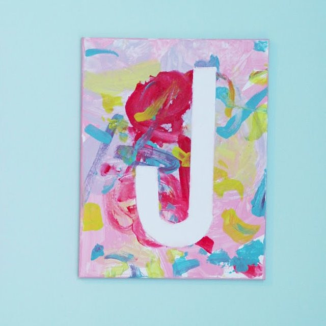 Best ideas about Art Projects For Little Kids . Save or Pin Canvas Art Projects For Kids Now.