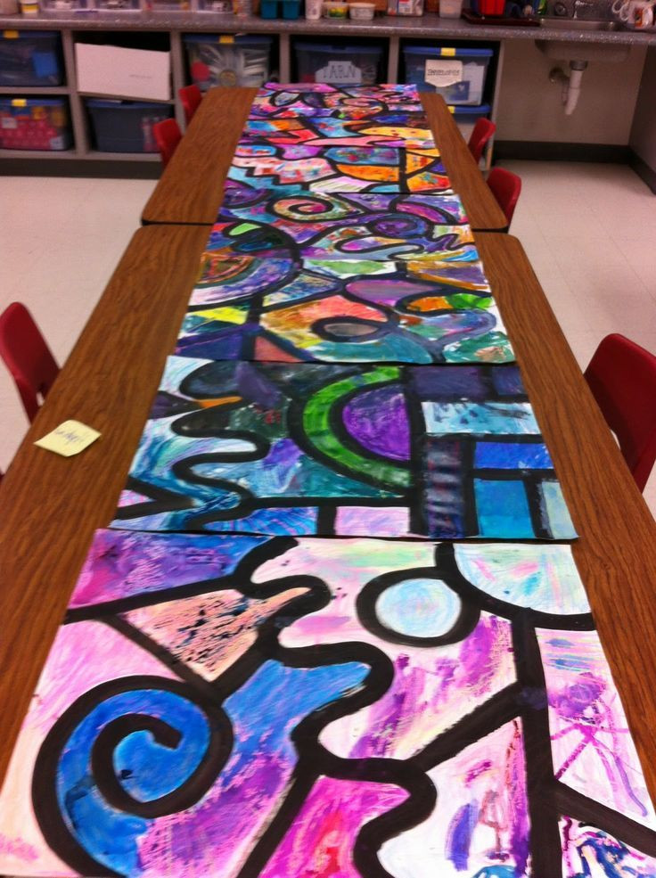 Best ideas about Art Projects Kids . Save or Pin Collaborative watercolor art project special ed Teacher Now.