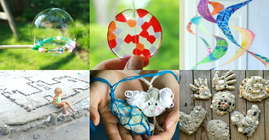 Best ideas about Arts And Craft Ideas For Kids . Save or Pin 100 Summer Crafts & Activities for Kids for a FUN Now.
