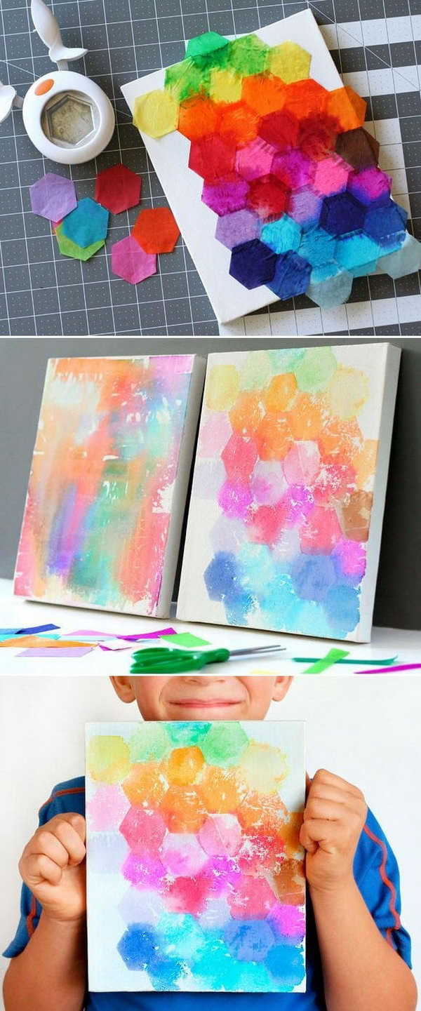 Best ideas about Arts And Craft Ideas For Kids . Save or Pin Create These Easy Tissue Paper Crafts and Have Fun with Now.