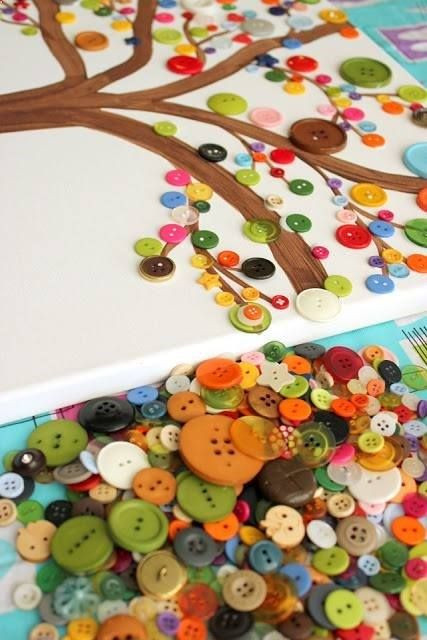 Best ideas about Arts And Craft Ideas For Kids . Save or Pin Colorful Fun DIY Buttons Projects You Can Start Any Time Now.