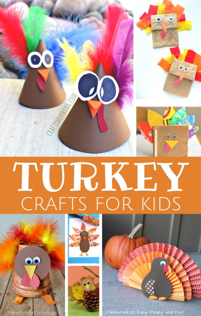 Best ideas about Arts And Crafts For Kids Ideas . Save or Pin Turkey Crafts for Kids Wonderful Art and Craft Ideas for Now.