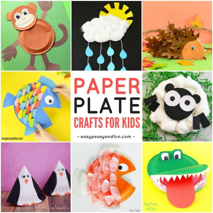 Best ideas about Arts And Crafts For Little Kids . Save or Pin Paper Plate Crafts Easy Peasy and Fun Now.