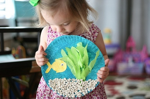 Best ideas about Arts And Crafts For Little Kids . Save or Pin Make This Fun Ocean Craft With Supplies You Can Find Now.
