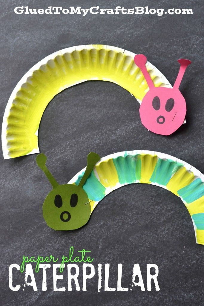 Best ideas about Arts And Crafts For Little Kids . Save or Pin Paper Plate Caterpillar Kid Craft Garden Club Now.