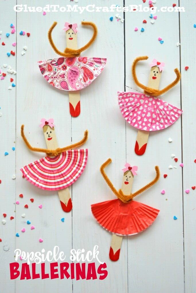 Best ideas about Arts And Crafts For Little Kids . Save or Pin 20 Popsicle Stick Crafts For Kids Now.