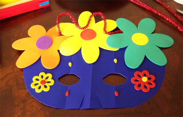 Best ideas about Arts And Crafts Ideas For Kids . Save or Pin Kids Craft Projects Paper Masks Now.