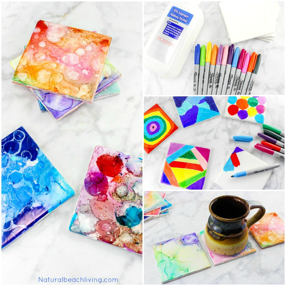 Best ideas about Arts And Crafts Projects For Kids . Save or Pin Tile Art for Kids That Everyone Will Enjoy Best Tile Art Now.
