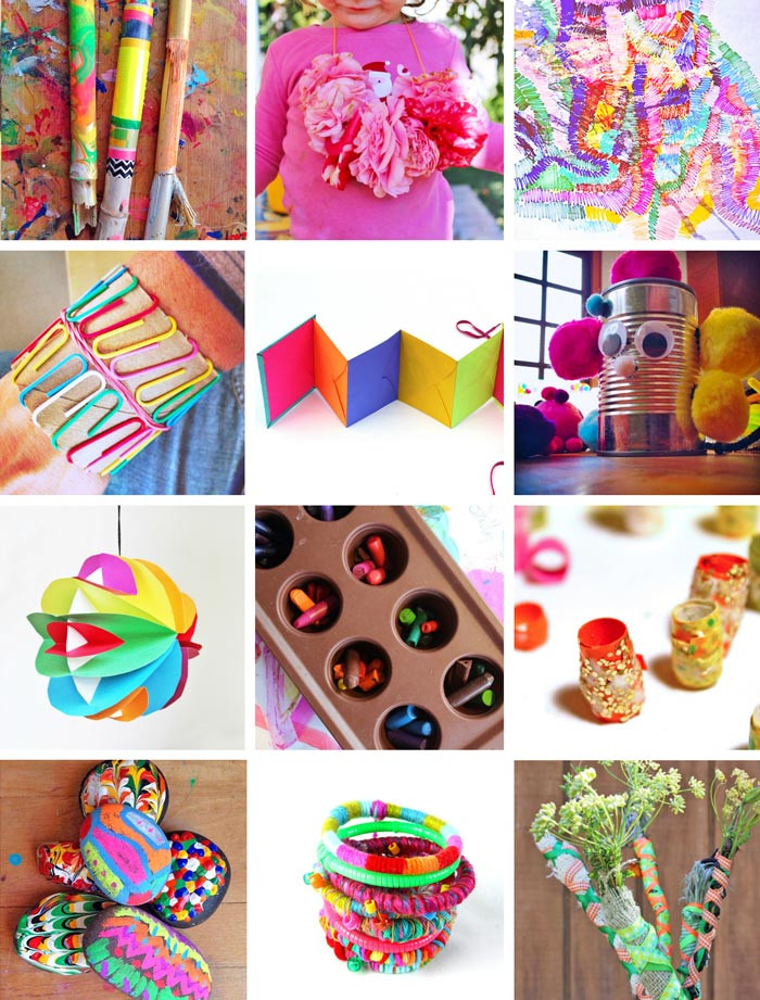 Best ideas about Arts And Crafts Projects For Kids . Save or Pin 80 Easy Creative Projects for Kids Babble Dabble Do Now.