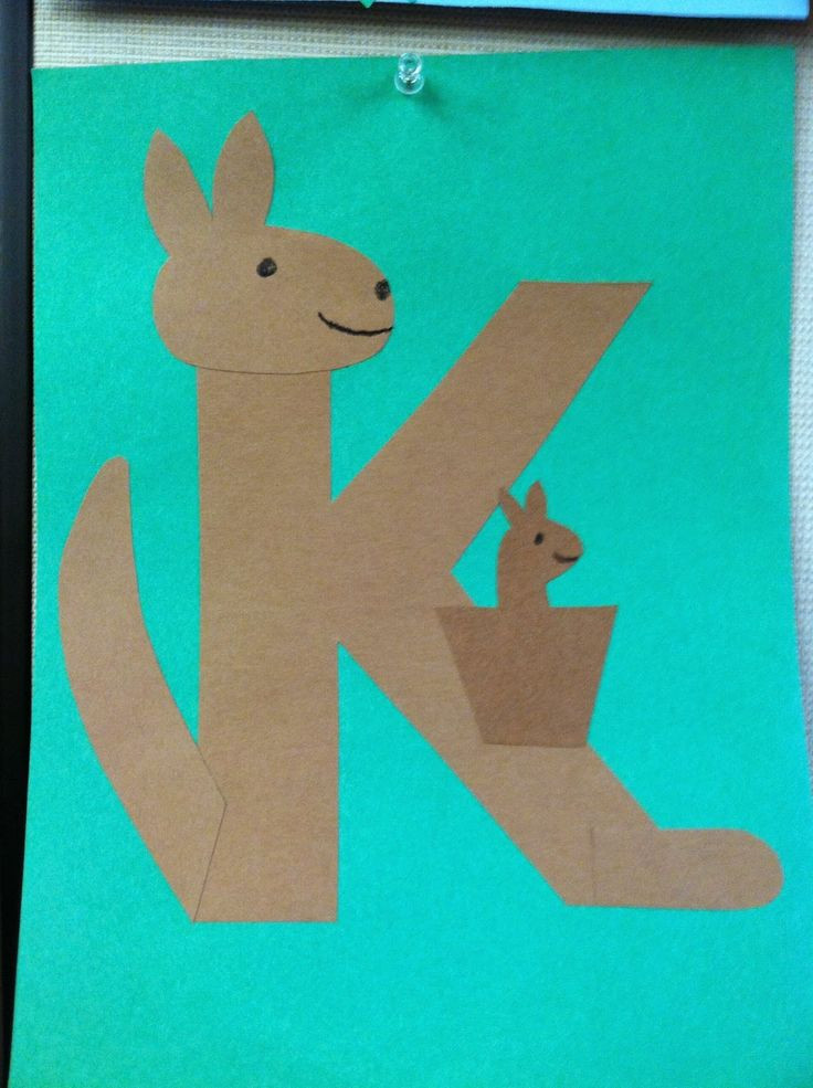 Best ideas about Arts Crafts For Preschoolers . Save or Pin The Lion is a Bookworm Storytime K is for Kangaroo Now.
