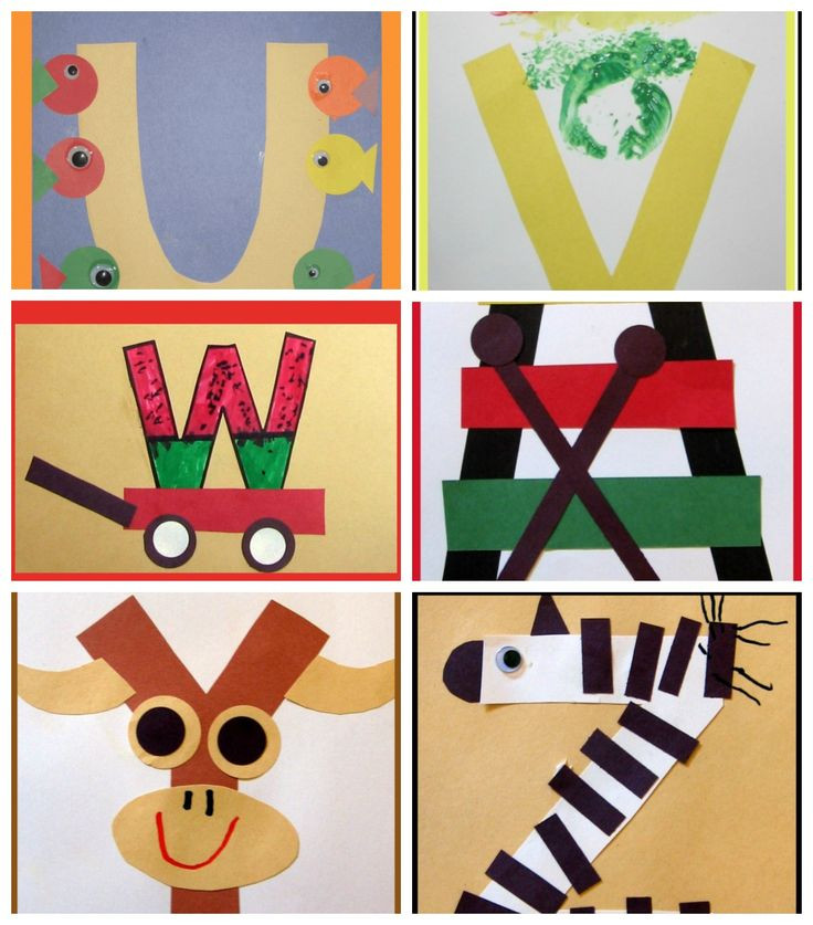 Best ideas about Arts Crafts For Preschoolers . Save or Pin Letter of the Week Crafts for Preschoolers Now.