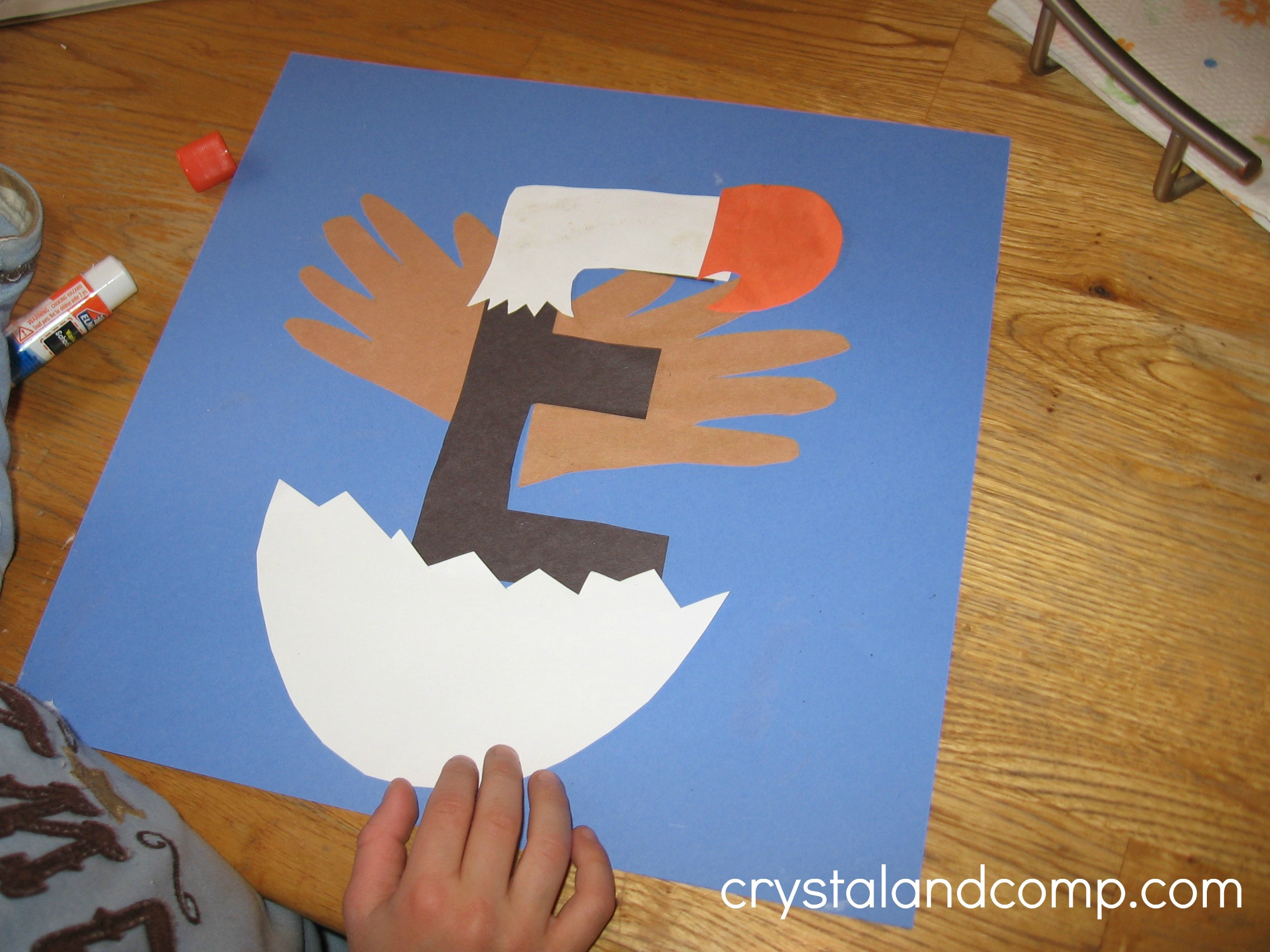 Best ideas about Arts Crafts For Preschoolers . Save or Pin Letter of the Week A Preschool Craft for the Letter E Now.
