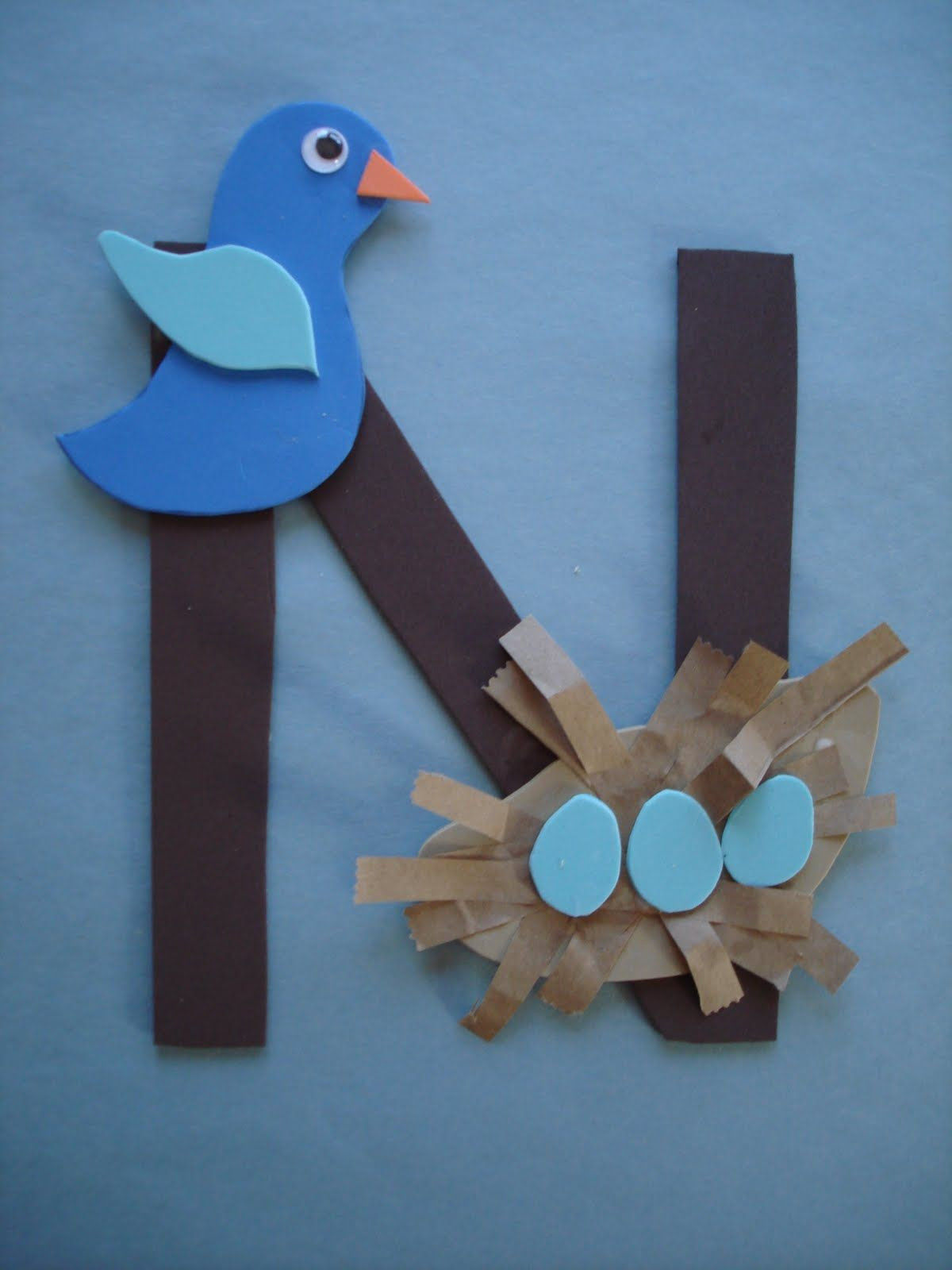 Best ideas about Arts N Craft For Kids . Save or Pin letter n crafts for preschoolers Google Search Now.
