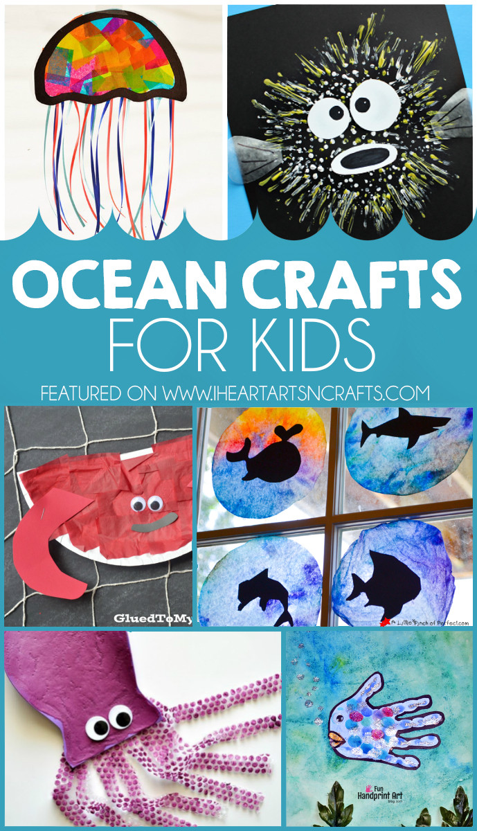 Best ideas about Arts N Craft For Kids . Save or Pin 27 Ocean Crafts For Kids I Heart Arts n Crafts Now.