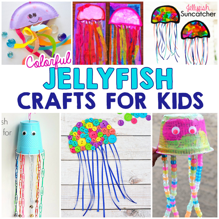Best ideas about Arts N Craft For Kids . Save or Pin Colorful Jellyfish Crafts For Kids I Heart Arts n Crafts Now.