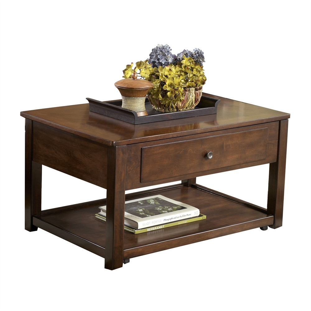 Best ideas about Ashley Coffee Table . Save or Pin Signature Design by Ashley T477 9 Marion Lift Top Cocktail Now.