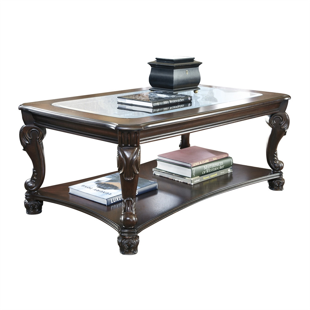 Best ideas about Ashley Coffee Table . Save or Pin Signature Design by Ashley T519 1 Norcastle Rectangular Now.
