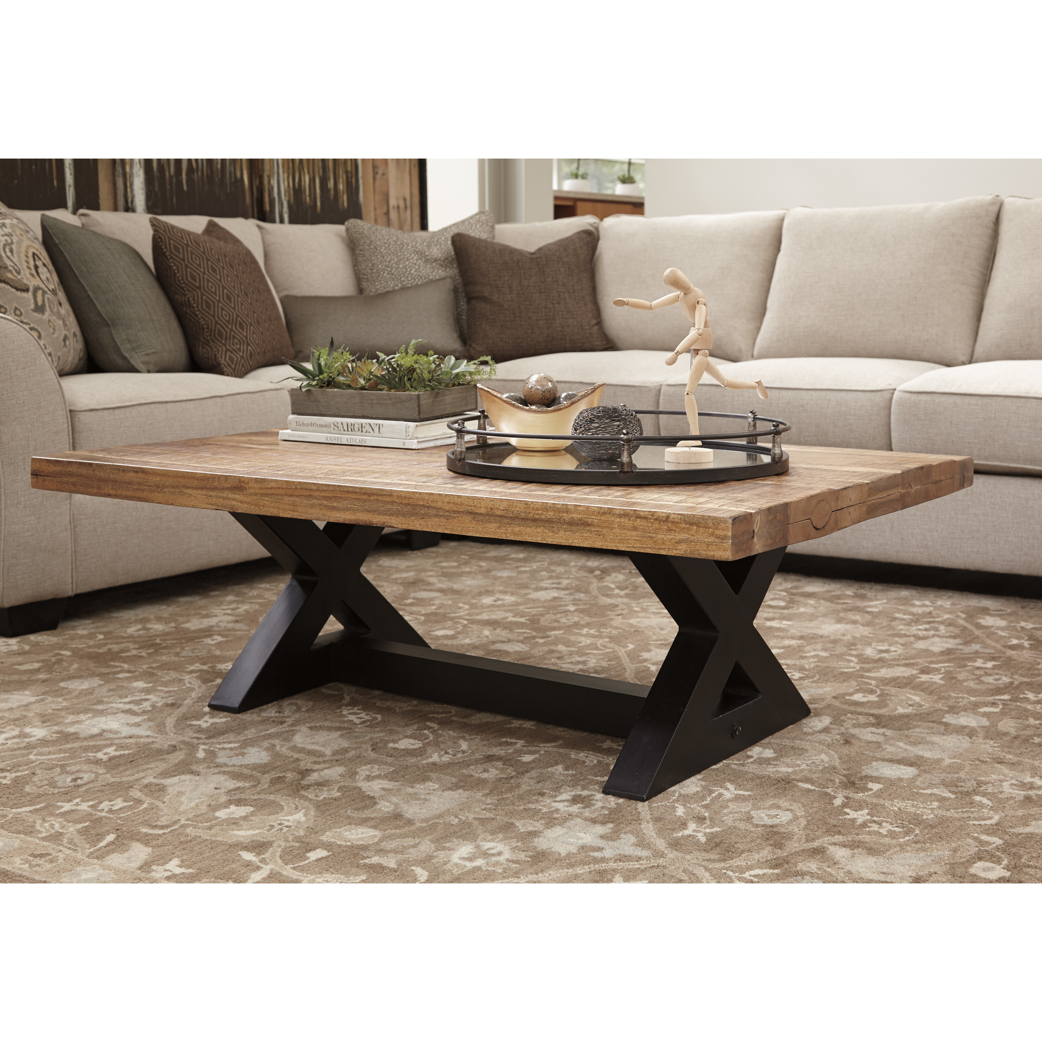 Best ideas about Ashley Coffee Table . Save or Pin Signature Design by Ashley Wesling Coffee Table & Reviews Now.