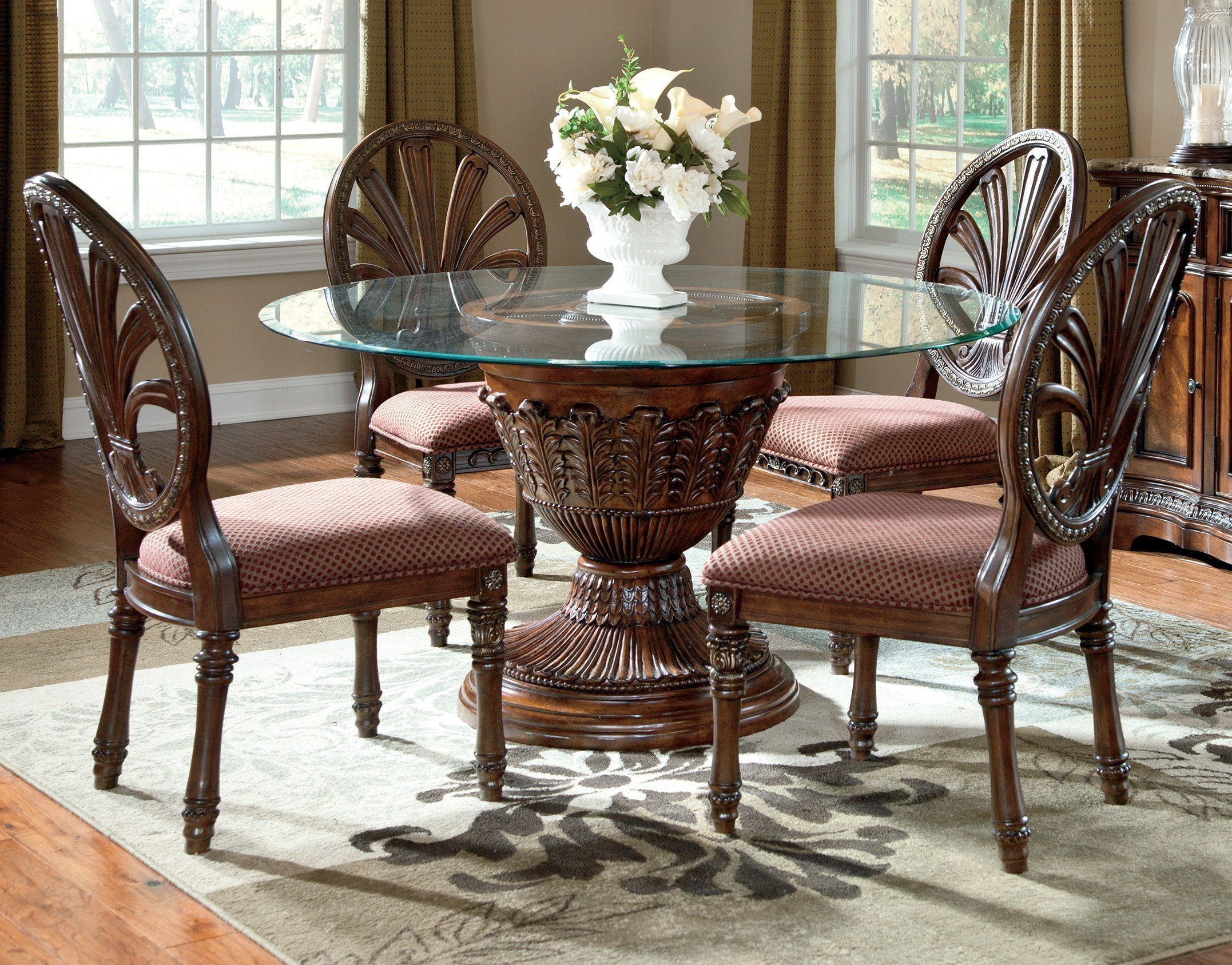 Best ideas about Ashley Furniture Dining Sets . Save or Pin Breakfast Table Sets & Full Size Kitchen Table5 Piece Now.