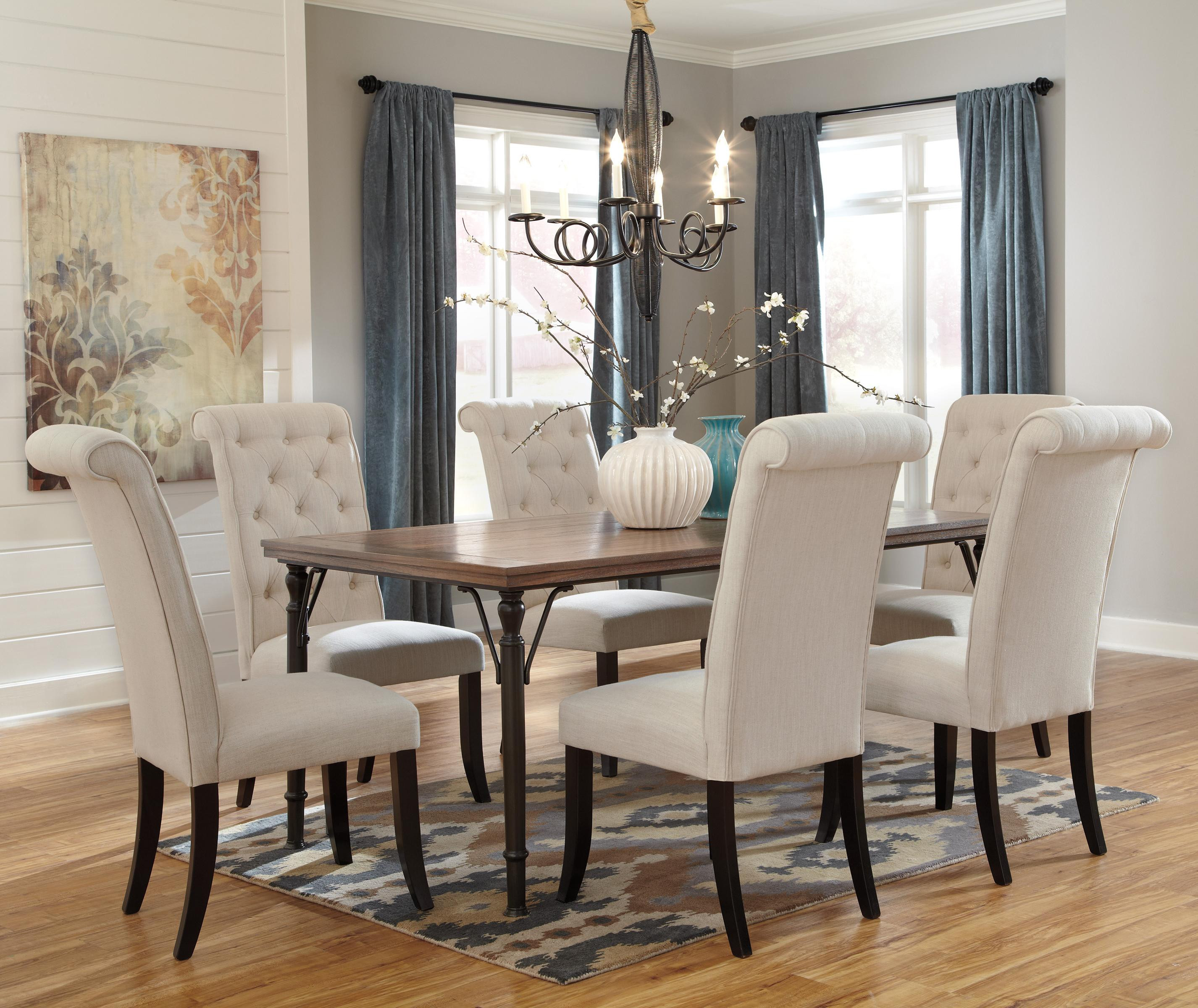 Best ideas about Ashley Furniture Dining Sets . Save or Pin Signature Design by Ashley Tripton 7 Piece Rectangular Now.