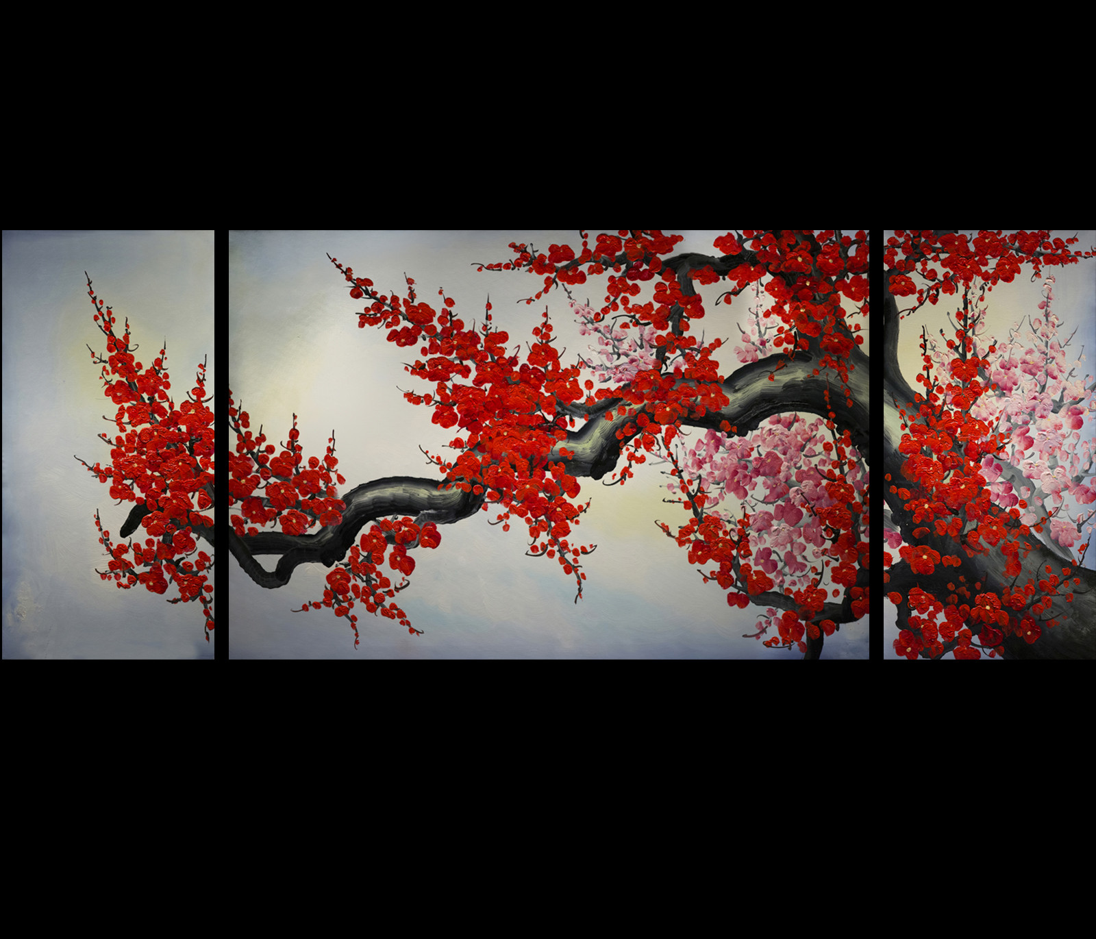 Best ideas about Asian Wall Art . Save or Pin Original Modern Abstract Oil Paintings on Canvas Art Now.