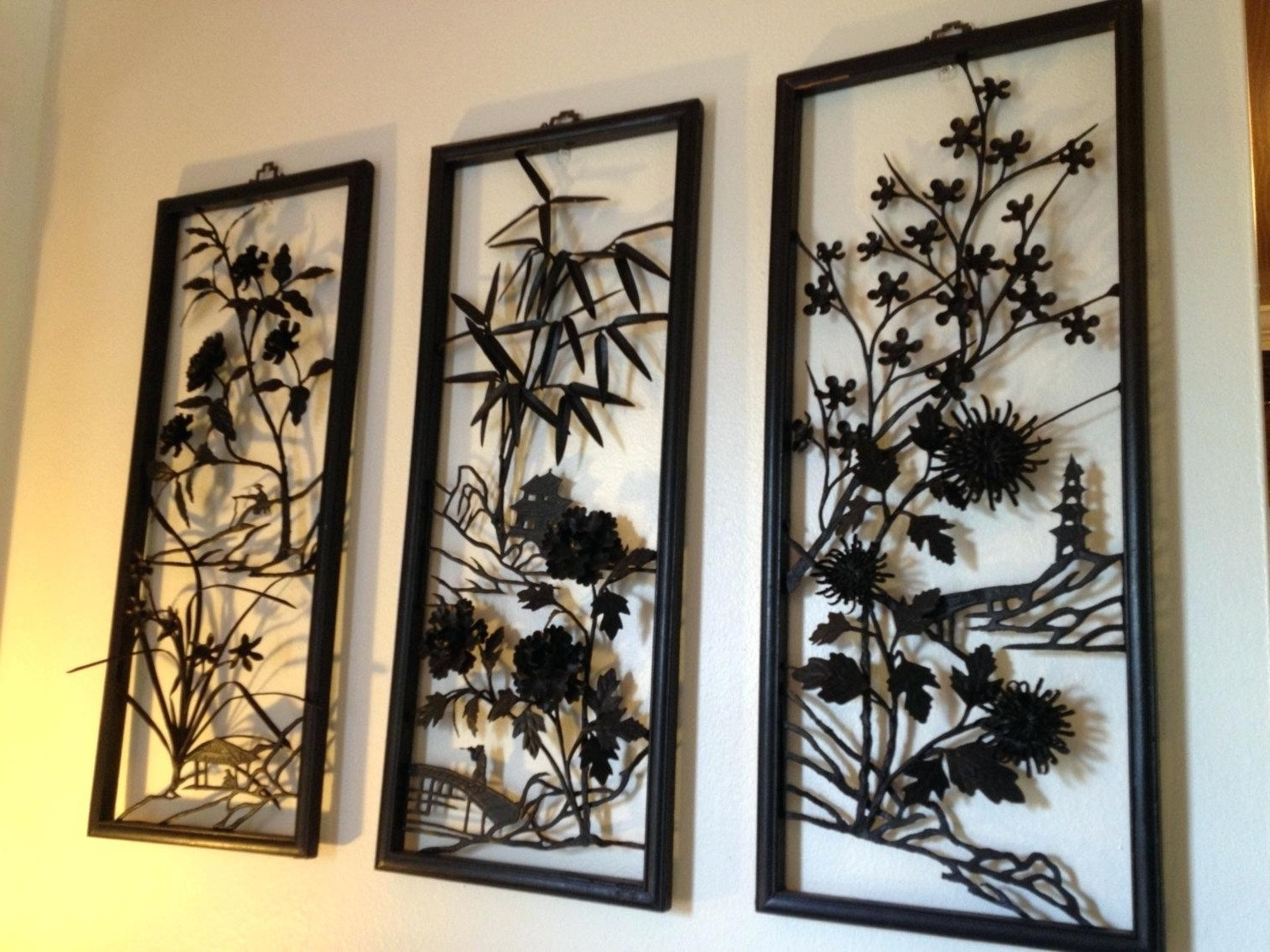 Best ideas about Asian Wall Art . Save or Pin Top 15 of Asian Metal Wall Art Now.