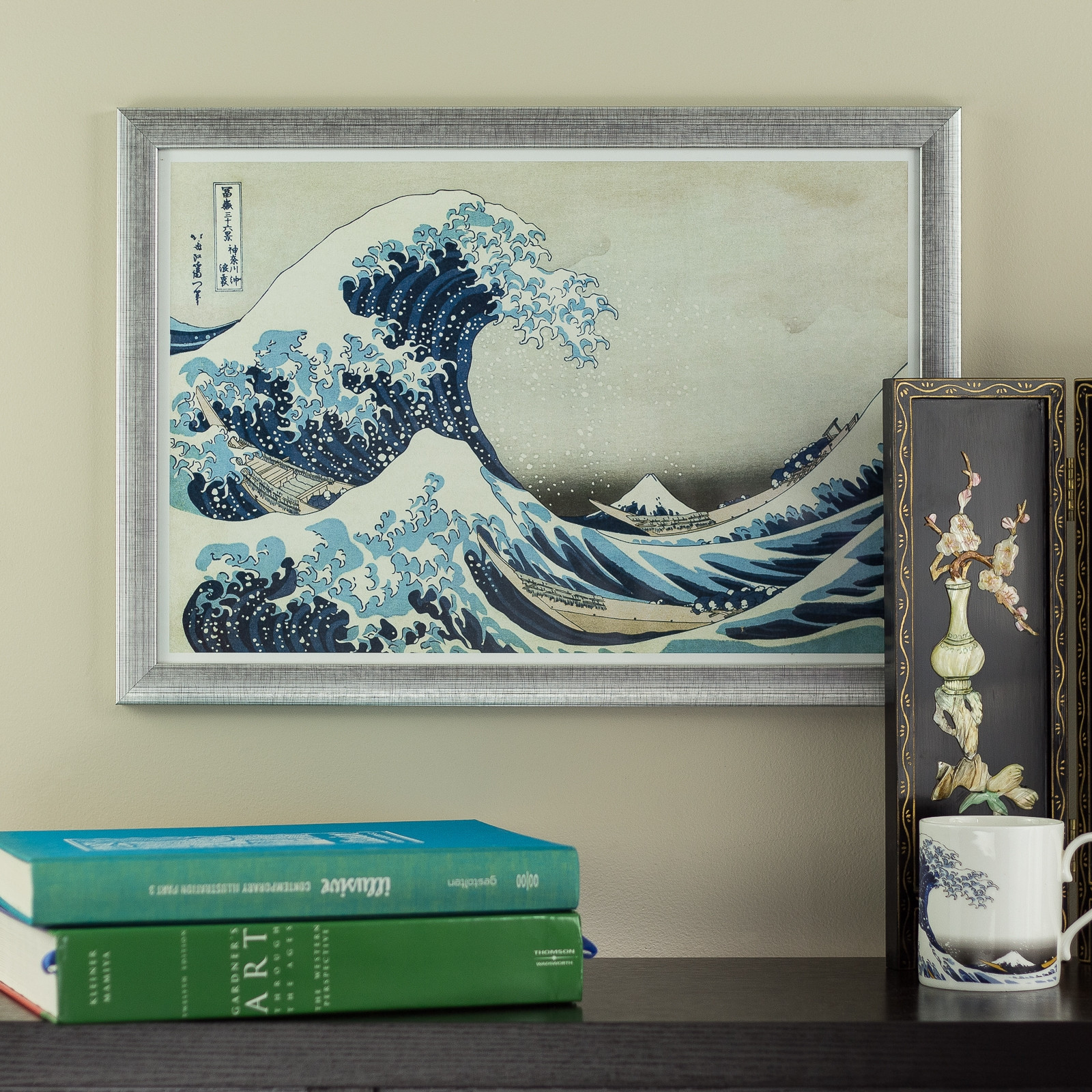 Best ideas about Asian Wall Art . Save or Pin The Great Wave off Kanagawa 13x19 Framed Asian Wall Art Now.