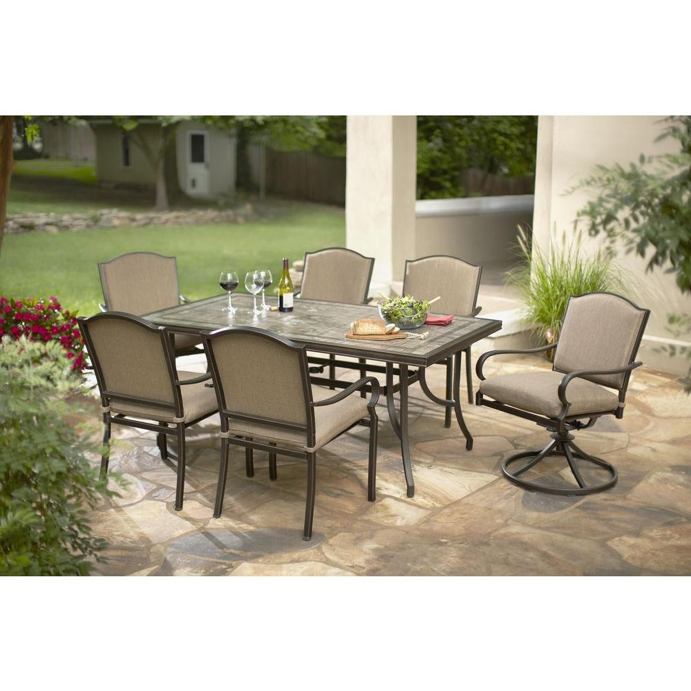 Best ideas about At Home Patio Furniture . Save or Pin Home Depot Patio Furniture Hampton Bay Now.