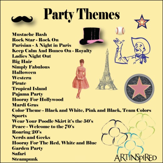 Best ideas about August Themes For Adults . Save or Pin Bunco Themes Now.