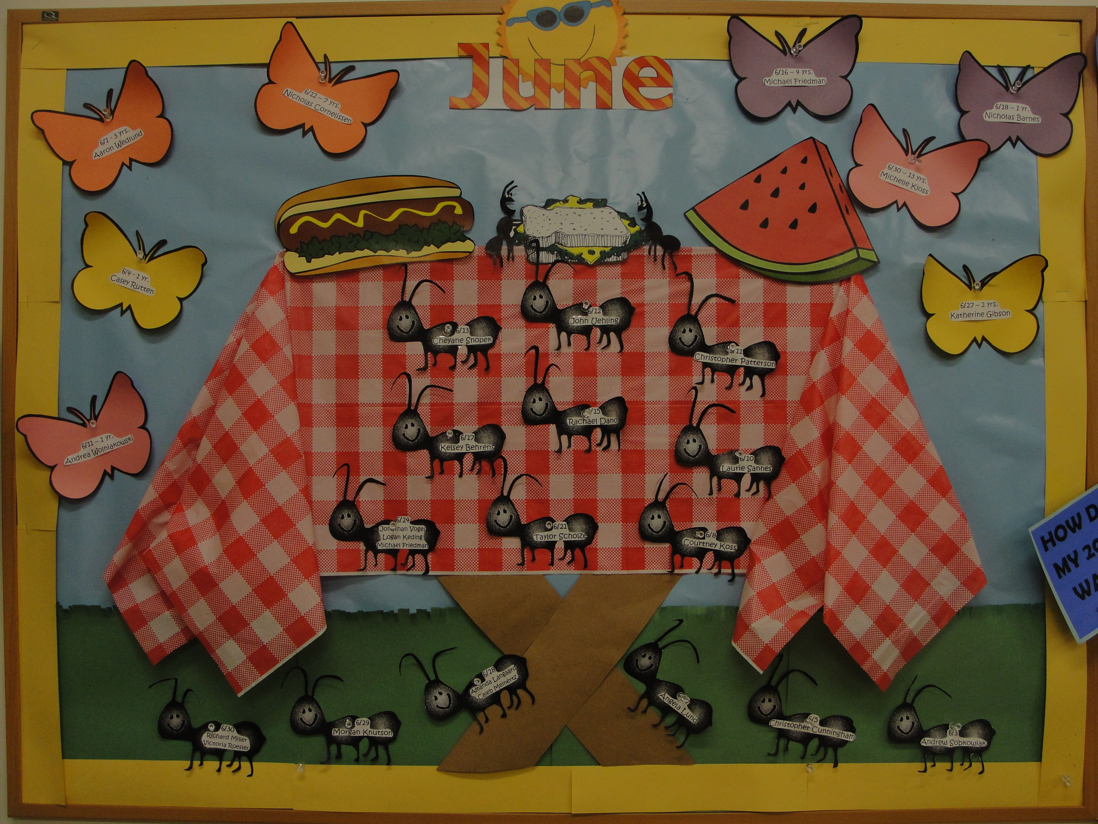 Best ideas about August Themes For Adults . Save or Pin Best 25 Picnic bulletin boards ideas on Pinterest Now.