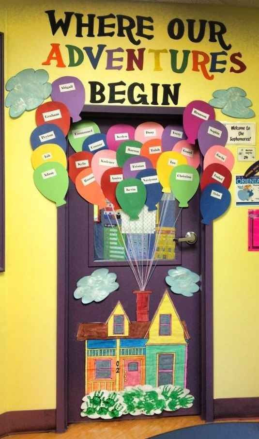 Best ideas about August Themes For Adults . Save or Pin 29 Awesome Classroom Doors For Back To School Now.