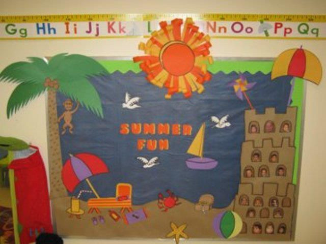 Best ideas about August Themes For Adults . Save or Pin preschool summer door decorations sailboat Now.
