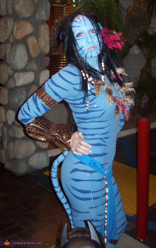 Best ideas about Avatar Costume DIY . Save or Pin Avatar movie character Neytiri homemade Halloween costume Now.