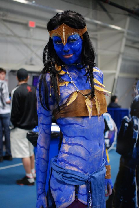 Best ideas about Avatar Costume DIY . Save or Pin Do It Yourself Avatar Costume Now.