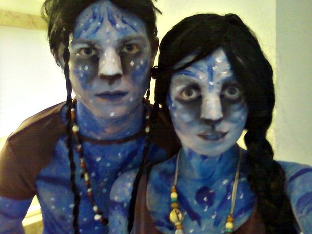 Best ideas about Avatar Costume DIY . Save or Pin DIY Avatar Costume for Cheap Now.