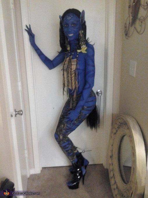 Best ideas about Avatar Costume DIY . Save or Pin Avatar Neytiri Halloween Costume Contest at Costume Now.
