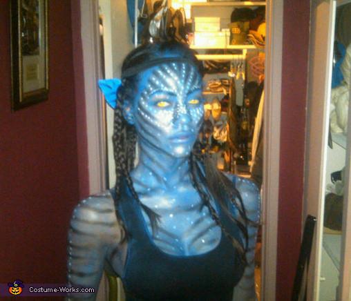 Best ideas about Avatar Costume DIY . Save or Pin Avatar Neytiri Halloween costume Now.