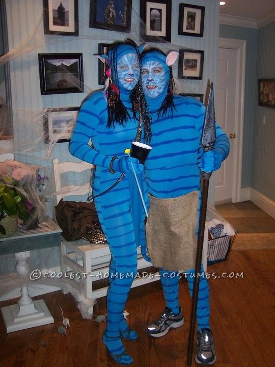 Best ideas about Avatar Costume DIY . Save or Pin Great Homemade Avatar Couple Costume Now.