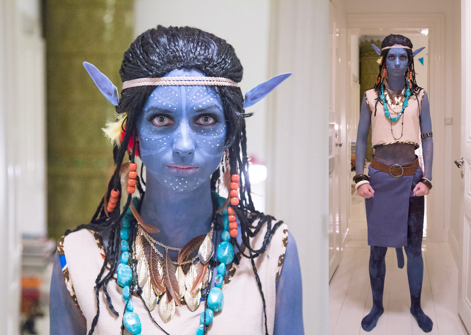 Best ideas about Avatar Costume DIY . Save or Pin Anna Maria L Avatar Halloween Costume Now.