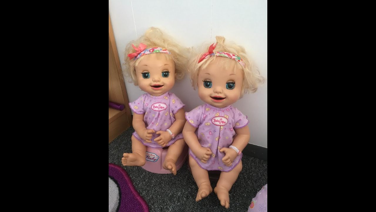 Best ideas about Baby Alive Toilet . Save or Pin Baby Alive Learns To Potty Twins Now.